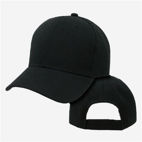 Topi Snapback Punisher Buy Side black plain blank adjustable golf tennis baseball solid