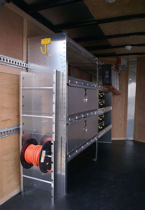 enclosed trailer shelving storage ranger design