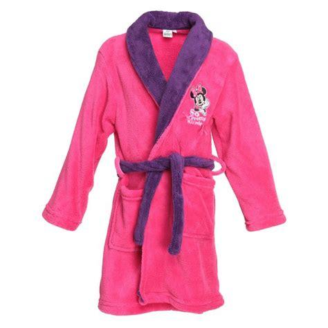 robe de chambre fille 2 ans minnie robe de chambre enfant fille et violet achat