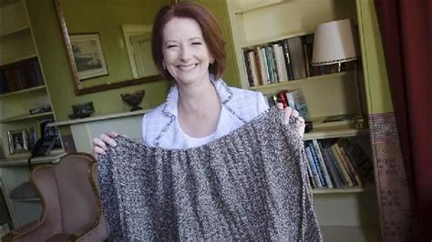 pm in knitting voters refuse to buy into prime minister gillard s