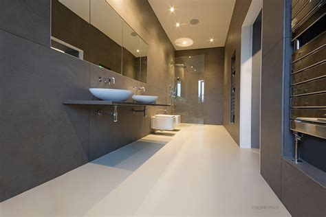 resin bathroom floor poured resin flooring chasingspace resin floors