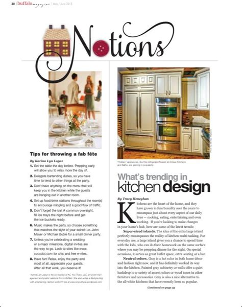 8 Tips For Throwing The by Buffalo Magazine Archives Page 2 Of 2 Kc You There