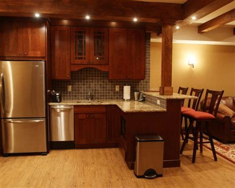 basement kitchens ideas basement kitchen bar ideas pictures remodel and decor