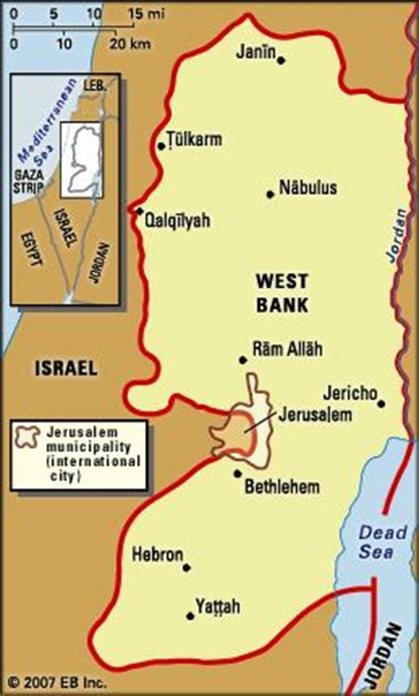 west bank definition jericho facts history britannica