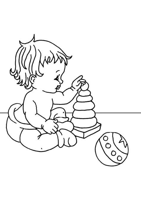 imagenes para colorear baby shower dibujo de baby imagui