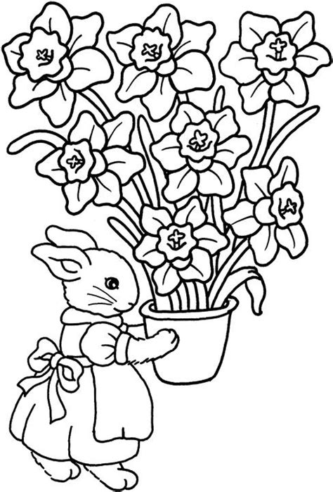 free coloring pages of easter flowers free coloring pages of lots of flowers