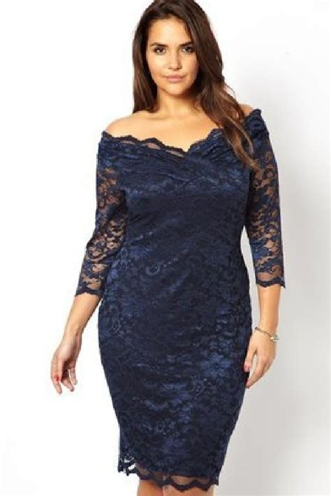 fashion for curvy the lace dress