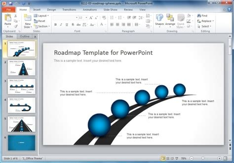 powerpoint template roadmap roadmap timeline powerpoint template jpg slidemodel
