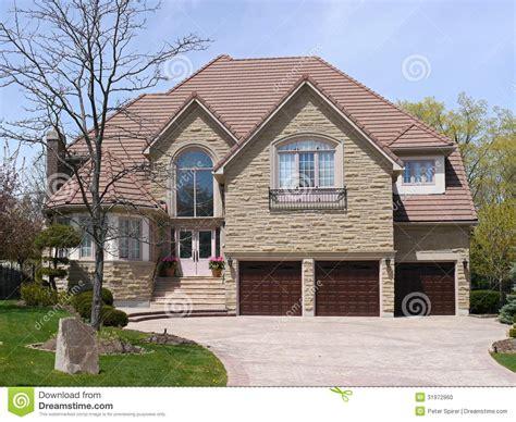 car wallpaper large large suburban house stock photo image 31972960