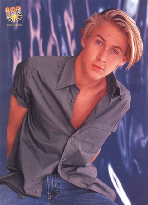 90s Teen Male With Long Blonde Hair | remember when ryan gosling was ugly man repeller