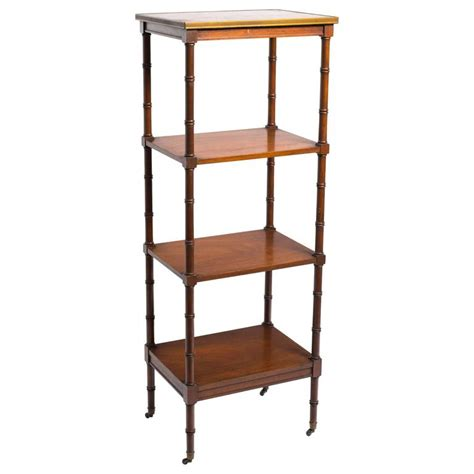 etagere 8 cases but regency style etagere at 1stdibs