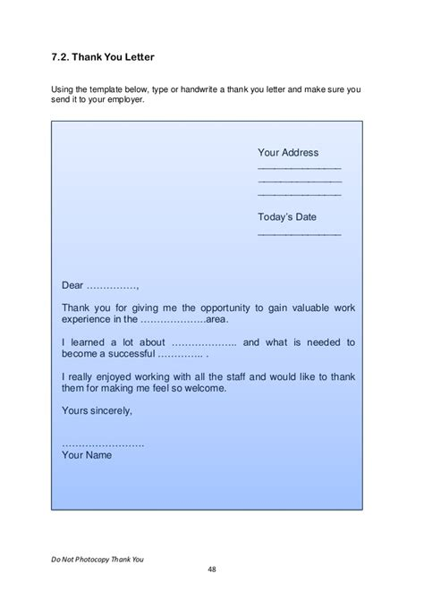 Work Experience Letter Transition Year transition year work experience voc preperation