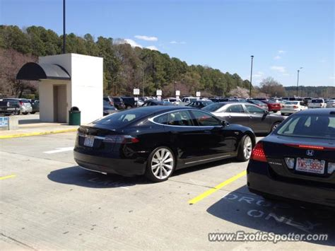 tesla model s spotted in raleigh carolina on 03 30