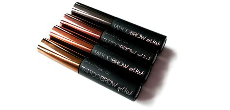 Maybelline Brow Gel Tint katina lindaa maybelline brow gel tint review and