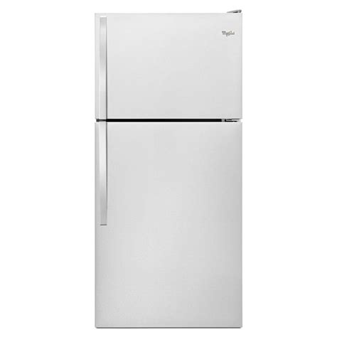 whirlpool 36 in w 24 9 cu ft side by side refrigerator