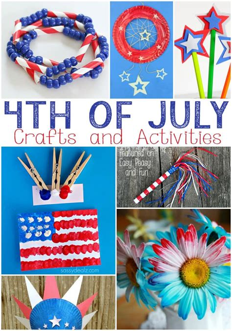 4th of july crafts for kids easy peasy and fun