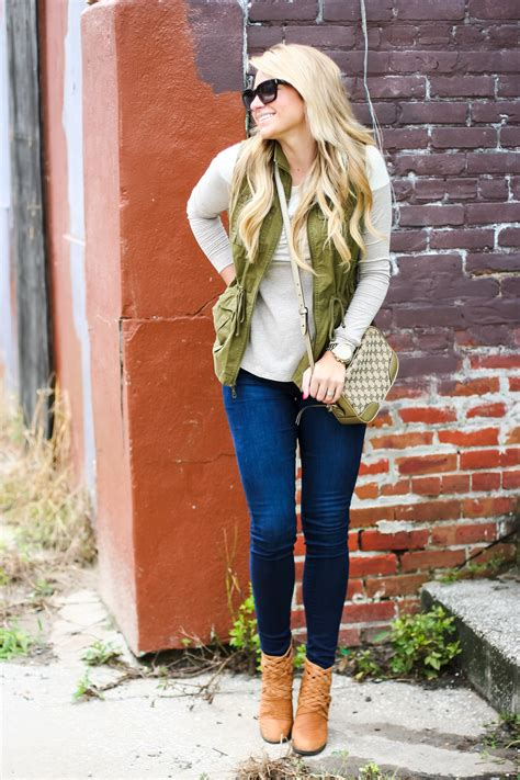 outfit fall tunic cargo vest shop dandy  florida