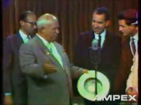 Kitchen Table Debate The Kitchen Debate Nixon And Khrushchev 1959 Part I Of