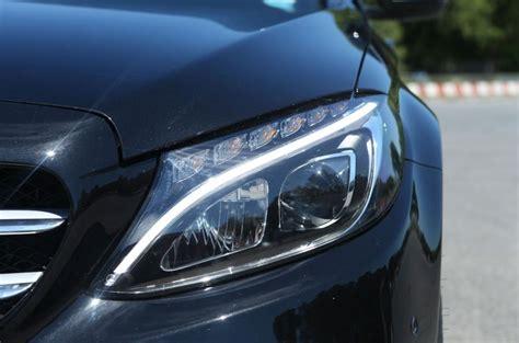 mercedes c class headlights mercedes benz c class review 2017 autocar