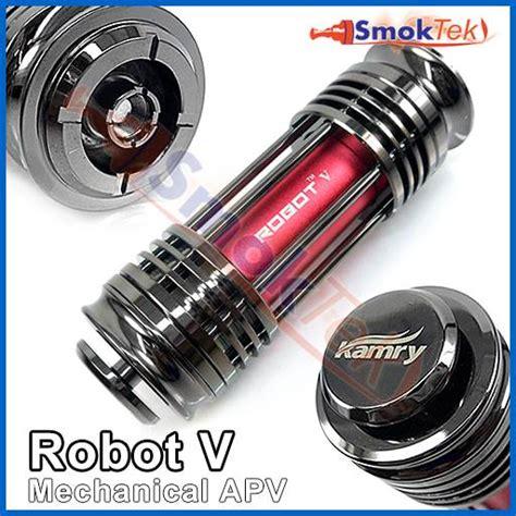 Limited Vape Vaporizer Paket Kamry Robot V Mechanical Mod Atomizer Ae kamry robot v mechanical mod smoktek