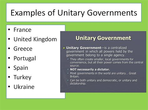 exle of unitary government image gallery unitary exles
