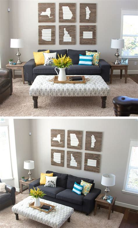 15 diy ideas to refresh your living room diy crafts