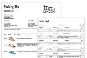 Picking Slip Template by Enterprise Shipping Software For High Volume Ecommerce