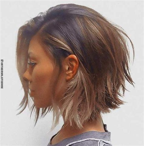 choppy lob hairstyle best 25 short hair with layers ideas on pinterest