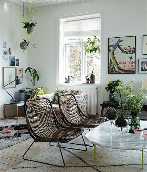 Livingroom Wall Art from thick rugs to knotted hanging plant holders this