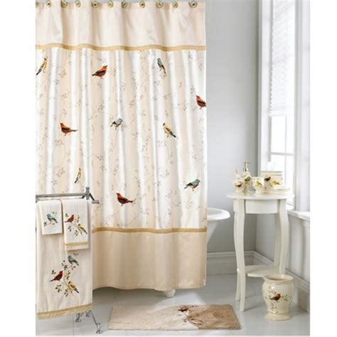shower curtains with birds on them 1000 images about bright spring bath decor on pinterest