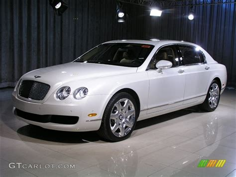 ghost bentley 2007 ghost white bentley continental flying spur mulliner