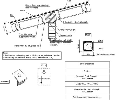 Load Bearing Wall Parallel To Floor Joists by Construction Details Cype Fiu429 Supported Between