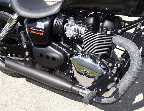 Triumph Motorrad Umbauten by Umgebautes Motorrad Triumph America Klisch Gbr 1000ps De