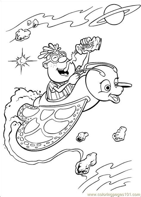 coloring book genius jimmy neutron 11 coloring page free the adventures of