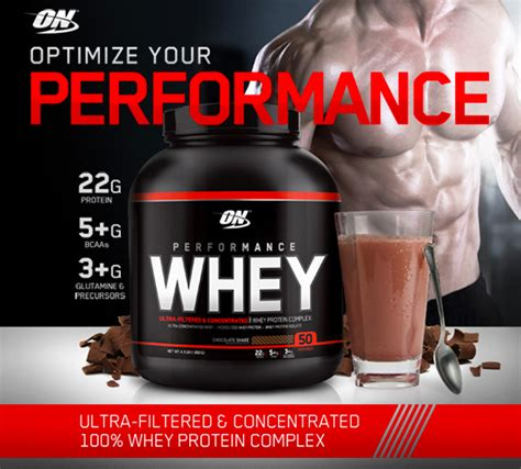 Whey Protein On performance whey cusprotein