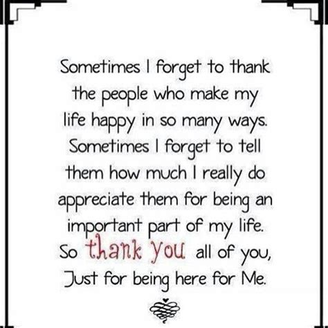 Thank You For Being In My I Am Grateful To You