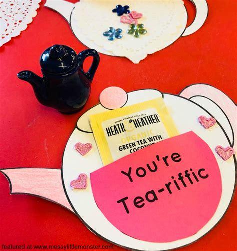 mothers day teapot card template you re tea riffic teapot craft free printable teapot