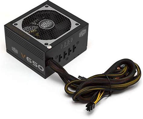 Power Supply Psu Cooler Master 550w V550 80 Gold testing three power supply capacity of 650 watts cooler master g650m cooler master v650 and