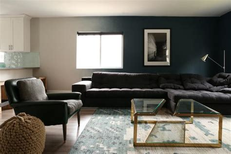 dark blue paint living room add drama to your home with dark moody colors hgtv s