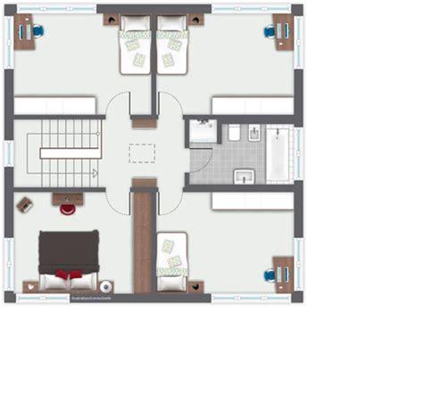 Grundriss Quadratisches Haus by Einfamilienhaus Ilvesheim Ein Fertighaus Gussek Haus