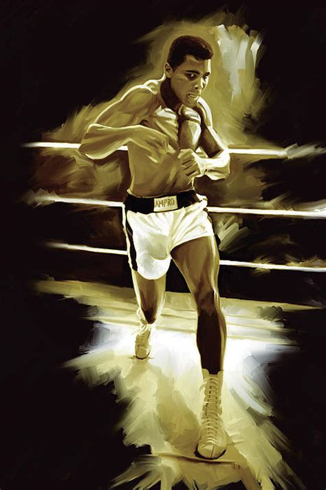 muhammad ali painting 59 00 muhammad ali boxing artwork by sheraz a