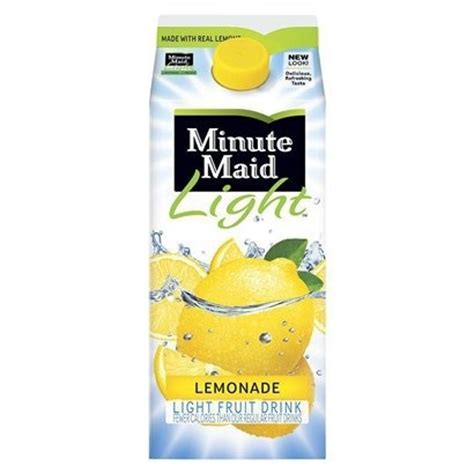minute light lemonade fruit drink 64 oz by coca cola