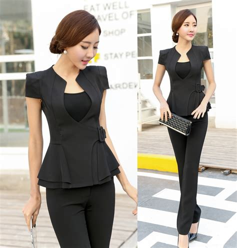 Setelan New Hania Set By Moda aliexpress buy novelty pant suits for business suits formal office suits work