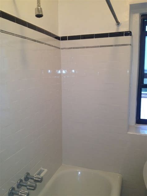 can you put a tv in the bathroom tub and wall tile reglazing refinishing masking trim
