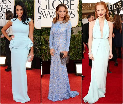 Oscar Trends To Inky Blue by Inspiration From The 2013 Golden Globes Carpet Sydne Style