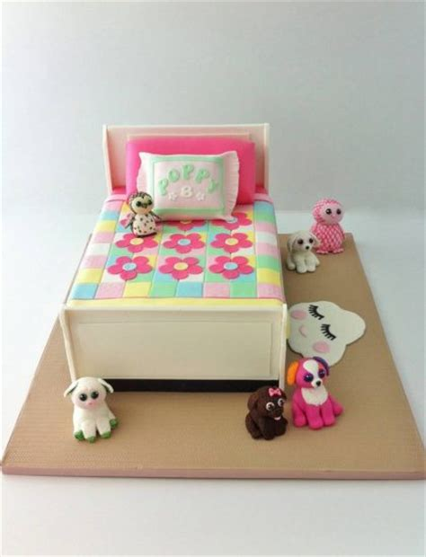 beanie boo bedroom cake sugarlily cakes