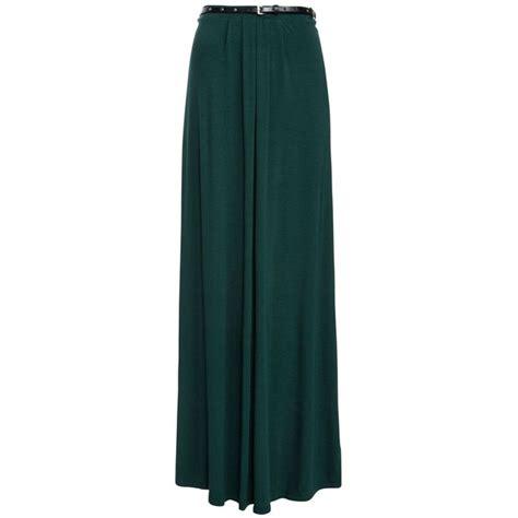 Maxi Belt Jersey green stud belt jersey maxi skirt 26 liked on