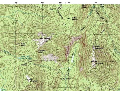 topographic maps how to read a map a hillwalk guide walking hiking