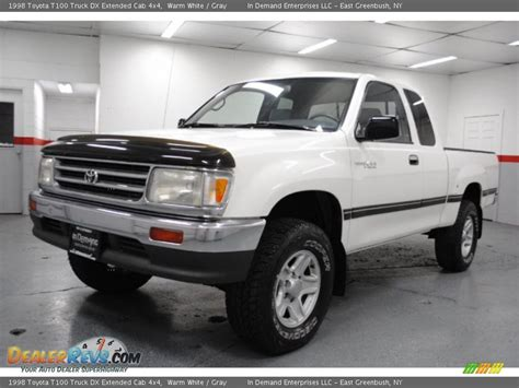 1998 Toyota T100 1998 Toyota T100 Truck Dx Extended Cab 4x4 Warm White