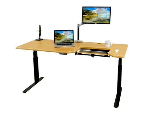 used stand up desk imovr omega everest electric standing desk review